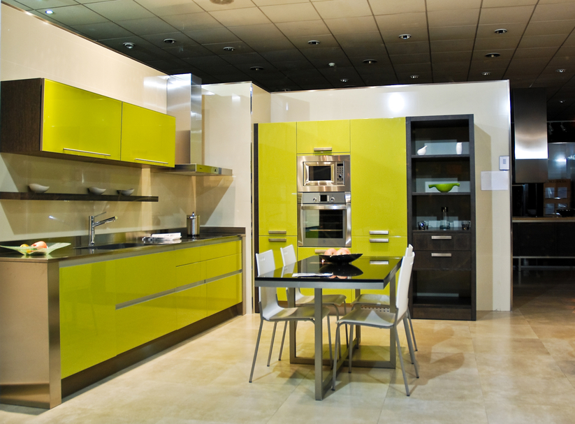 green and black kitchen design private oceanfront lanai