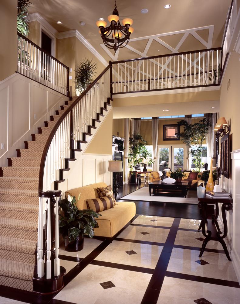 Foyer Interior : Custom luxury foyer interior designs grand entrance
