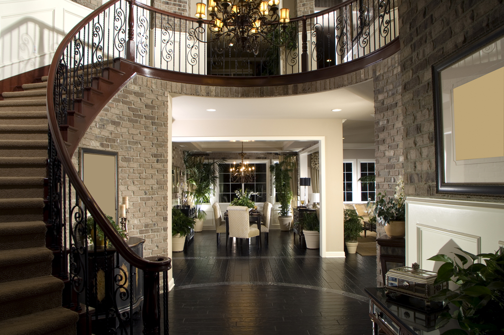 Foyer Entrance Exam : Custom luxury foyer interior designs grand entrance