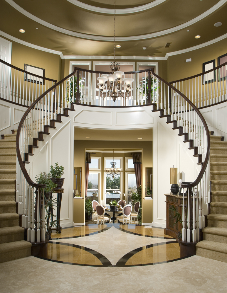 45 Custom Luxury Foyer Interior Designs (Grand Entrance)