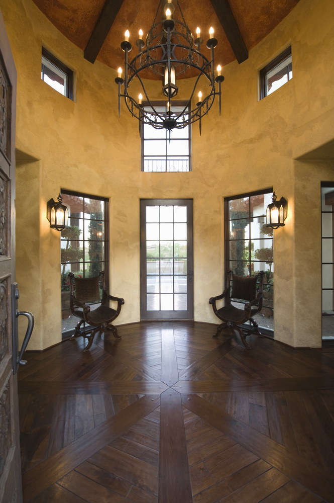 45 Custom Luxury Foyer Interior Designs (Grand Entrance)