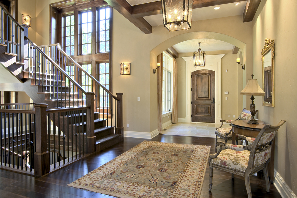 45 custom luxury foyer interior designs grand entrance for Front foyer designs