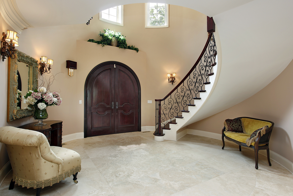 45 custom luxury foyer interior designs grand entrance for Foyer area interior