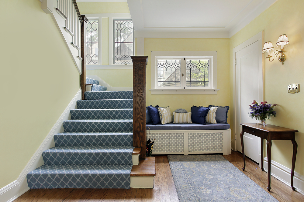 45 custom luxury foyer interior designs grand entrance for Sitting hall interior designs