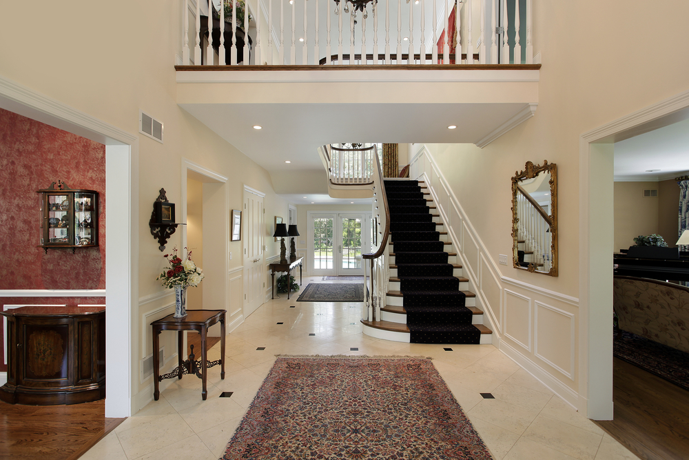 Foyer For Home : Custom luxury foyer interior designs grand entrance