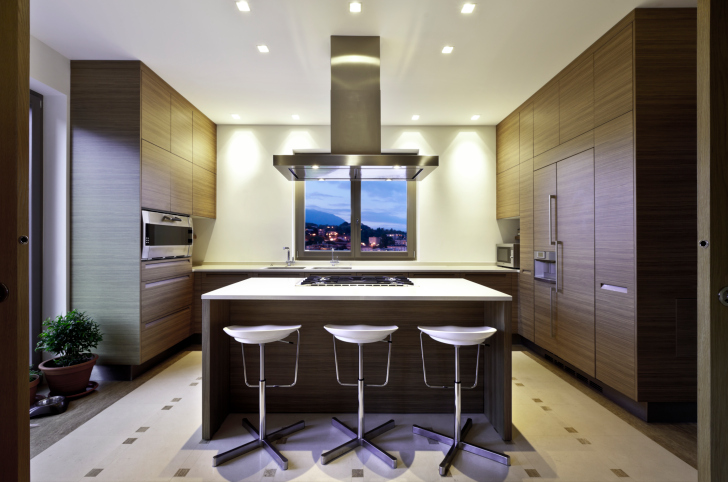 Dark Wood Modern Kitchen 101 modern custom luxury kitchen designs (photo gallery) | housemodo