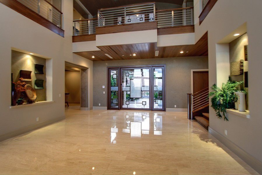 45 custom luxury foyer interior designs grand entrance for Outside foyer designs