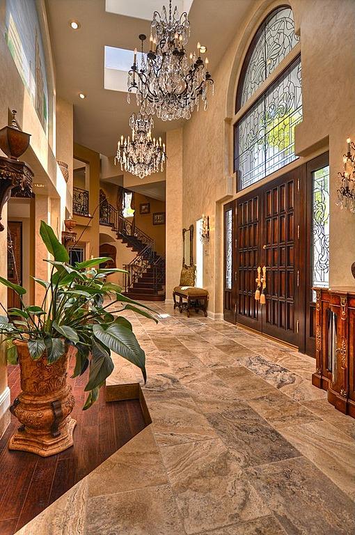Grand Foyer Entrance : Custom luxury foyer interior designs grand entrance